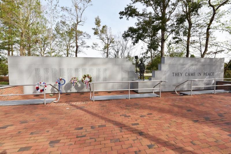 The Beirut Memorial in Jacksonville, NC